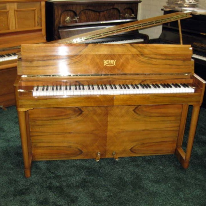 Boyd Upright Grand In Honey Walnut - £1475 - L140 / H92 / D56cm